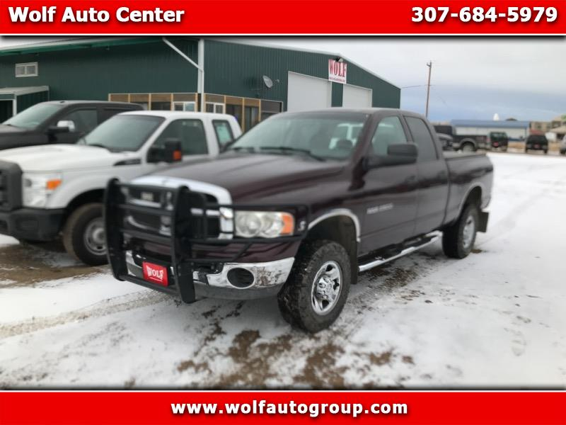 Dodge Ram Pickup 2500 Club Cab Long Bed 4WD 2005