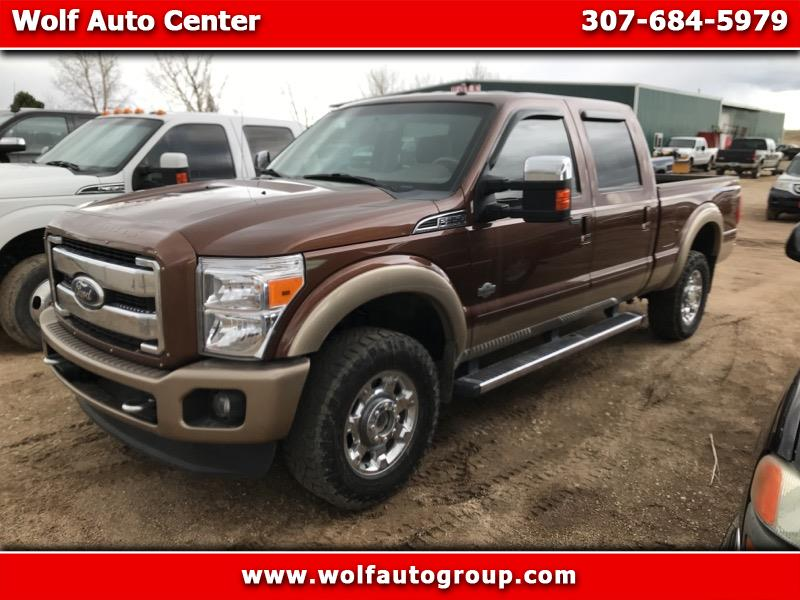 Ford F-350 SD King Ranch Crew Cab 4WD 2012
