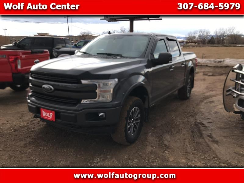 "Ford F-150 4WD SuperCrew 157"" Lariat w/HD Payload Pkg 2018"