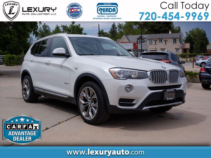 2015 BMW X3 AWD 4dr xDrive28i