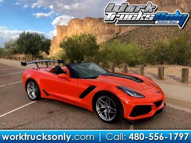 2019 Chevrolet Corvette ZR1 Premium 3ZR Convertible Auto