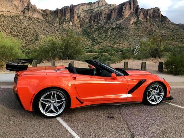 Chevrolet Corvette ZR1 Premium 3ZR Convertible Auto 2019