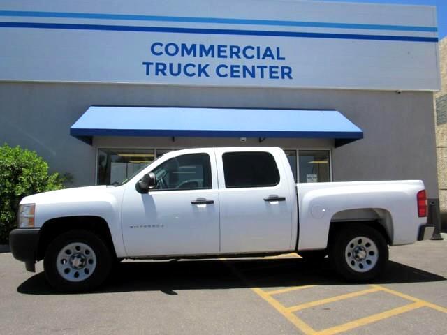 2010 Chevrolet Silverado 1500 Work Truck Crew Cab 4WD