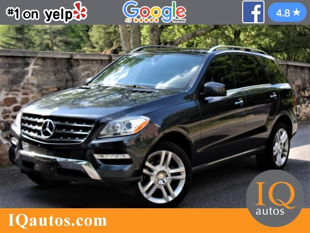 2015 Mercedes-Benz M-Class ML250 BlueTEC 4MATIC
