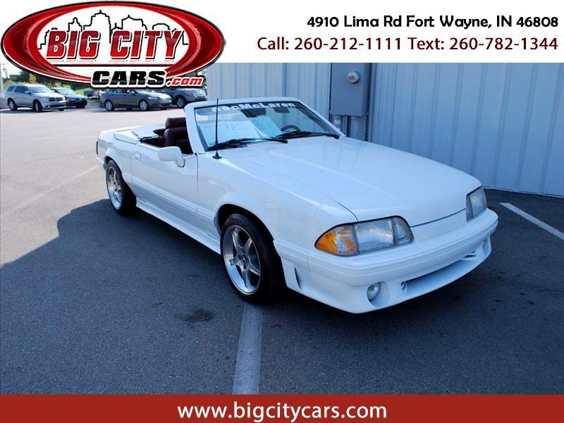 Ford Mustang LX coupe 1988