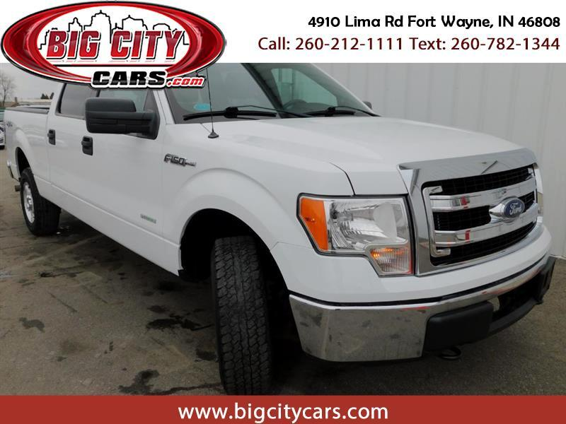Ford F-150 XL SuperCrew 5.5-ft. Bed 4WD 2013