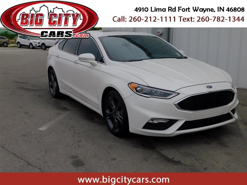 Ford Fusion Sport w/EcoBoost 2017