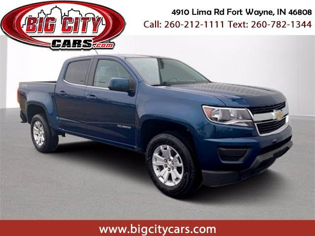 Chevrolet Colorado LT Crew Cab 4WD Long Box 2019