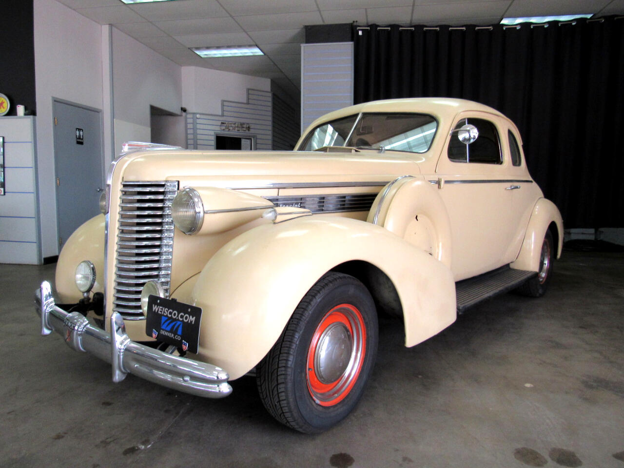 Buick Business Coupe  1938