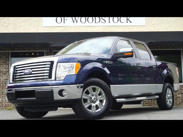"2010 Ford F-150 2WD SuperCrew 150"" XLT"