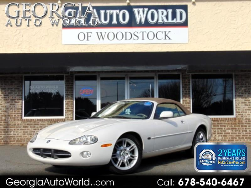 2002 Jaguar XK-Series XK8 Convertible