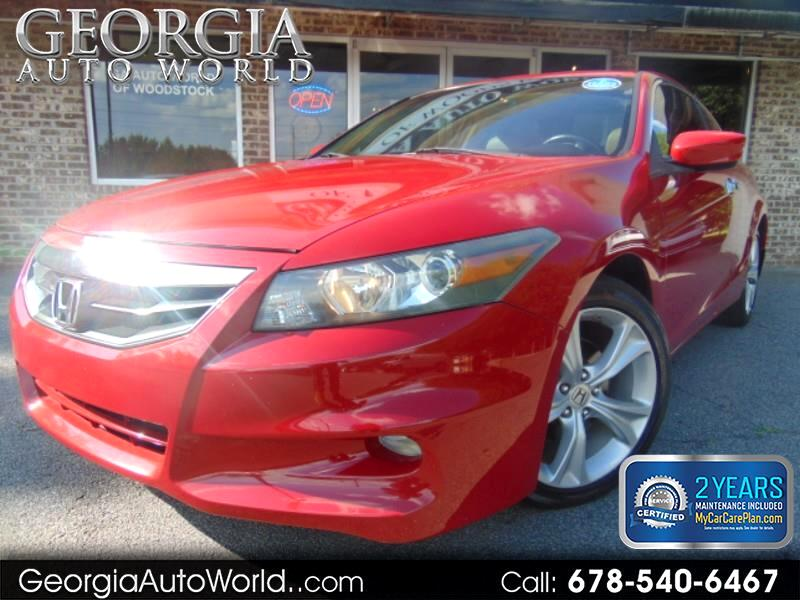 2011 Honda Accord EX-L V-6 Coupe AT with Navigation
