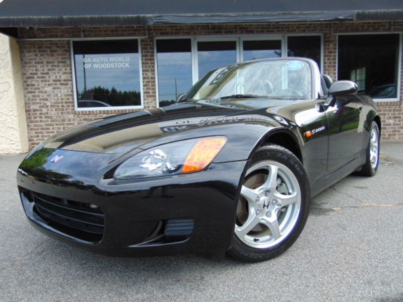 2001 Honda S2000 6-Speed MT