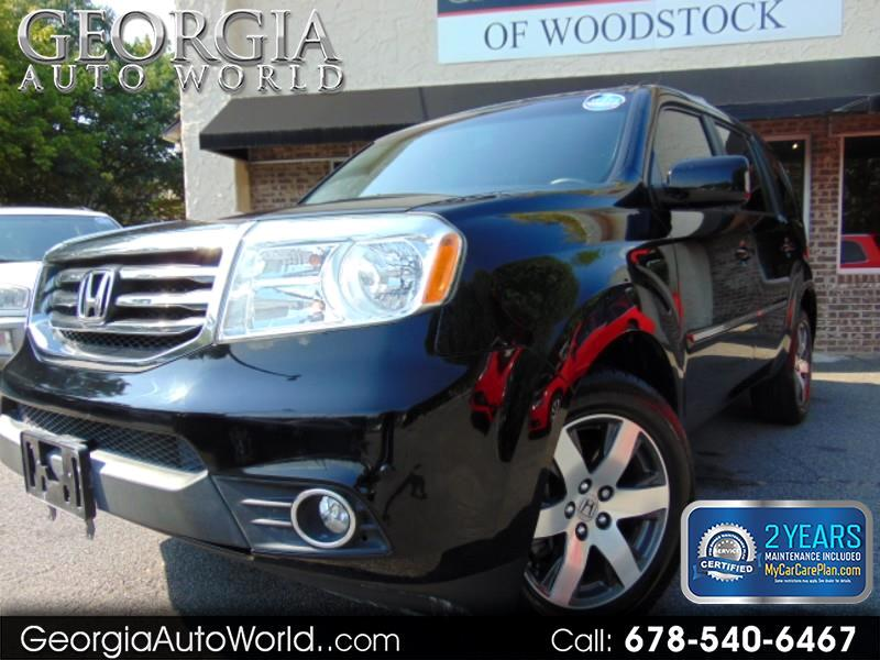2012 Honda Pilot Touring Sport 2WD 5-Spd AT with DVD