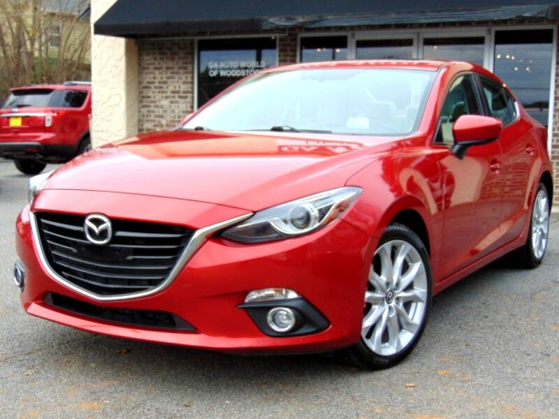 Mazda MAZDA3 s Grand Touring AT 4-Door 2015