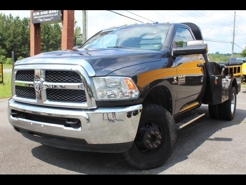 RAM 3500 Tradesman Regular Cab 4WD DRW 2014