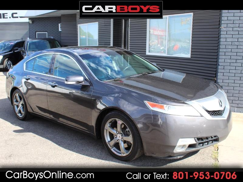 2010 Acura TL 6-Speed AT with Tech Package