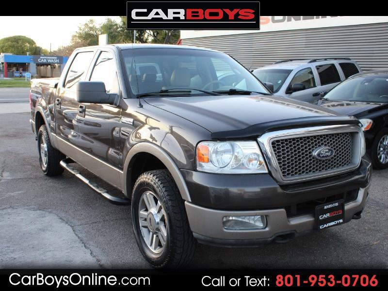 2005 Ford F150 Lariat >> Used 2005 Ford F 150 Lariat For Sale In Salt Lake City Ut