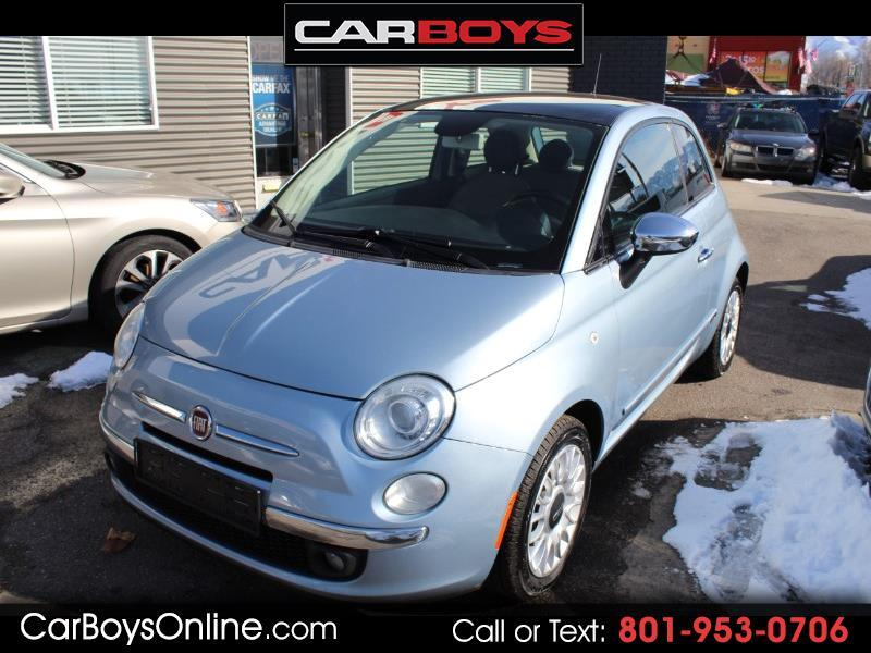 Fiat 500 Lounge Hatchback 2013
