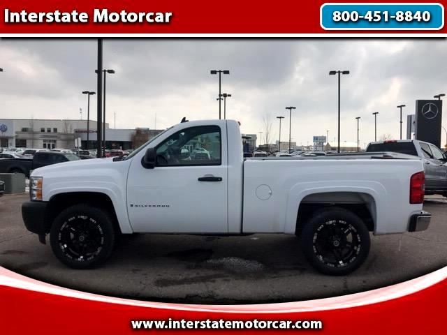 2009 Chevrolet Silverado 1500 Work Truck Short Box 4WD