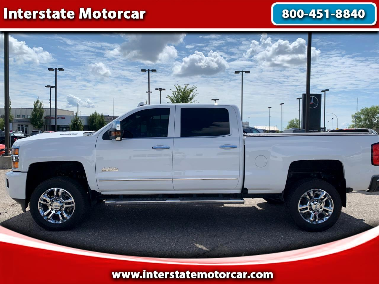 "2019 Chevrolet Silverado 3500HD 4WD Crew Cab 153.7"" High Country"