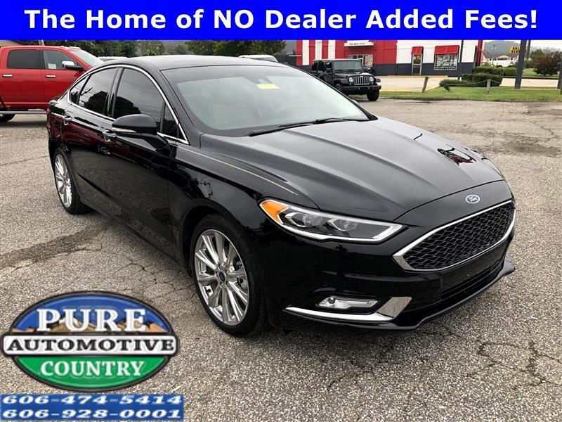 used 2017 ford fusion titanium awd for sale in ashland ky 41102 pure country automotive. Black Bedroom Furniture Sets. Home Design Ideas