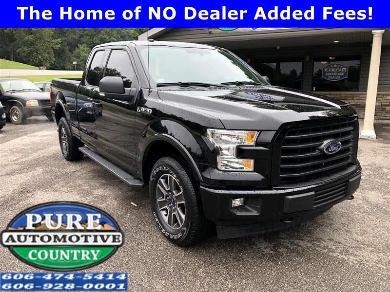 2017 Ford F-150 4WD SuperCab 163
