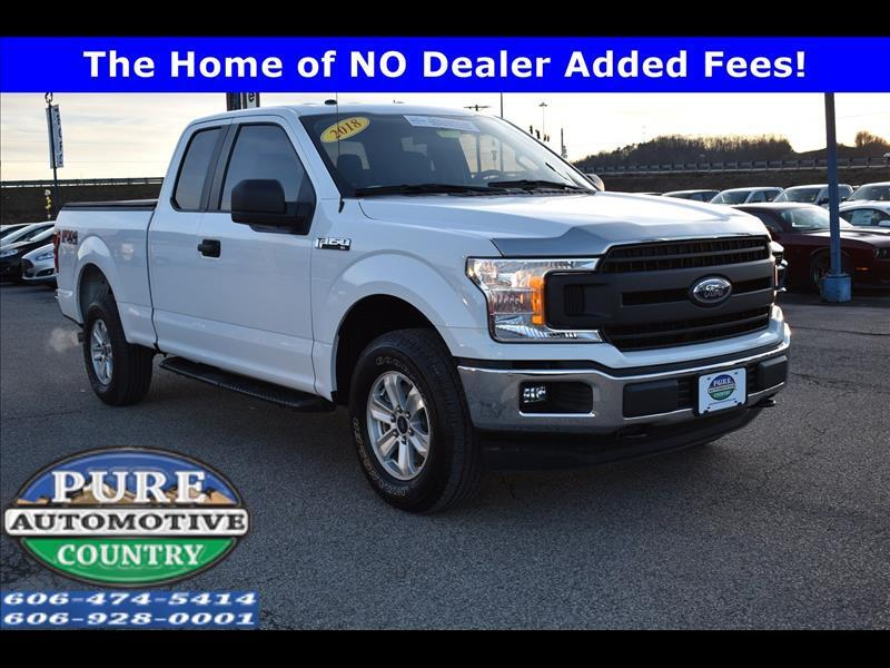 2018 Ford 150 Lariat SuperCab 6.5-ft. 4WD