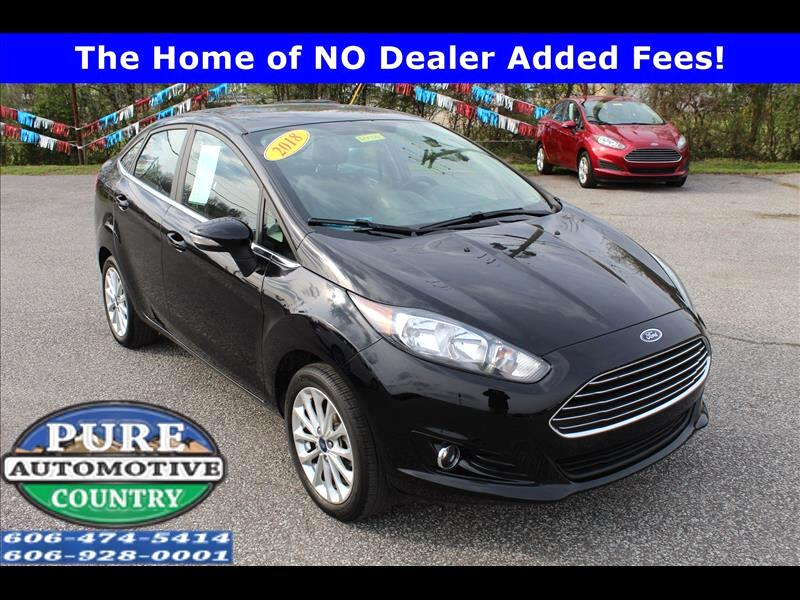 2018 Ford Fiesta Titanium Sedan