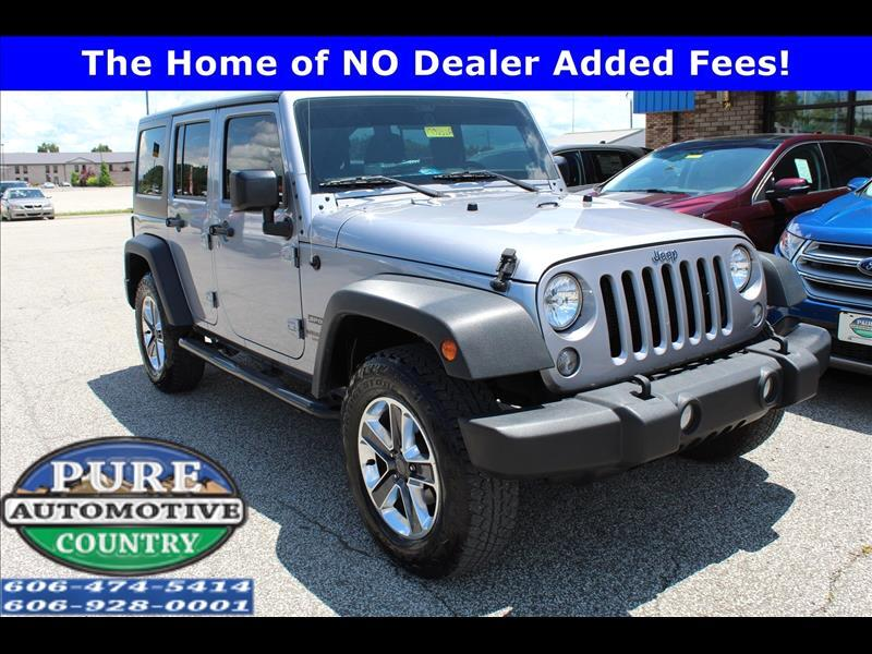 2016 Jeep Wrangler Unlimited Unlimited Sport 4WD