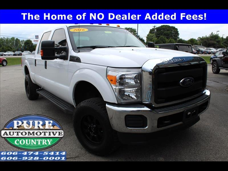 2016 Ford F-250 XLT Crew Cab Long Bed 4WD