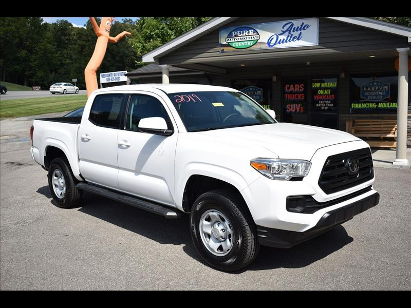 2019 Toyota Tacoma SR5 Double Cab Long Bed I4 6AT 2WD