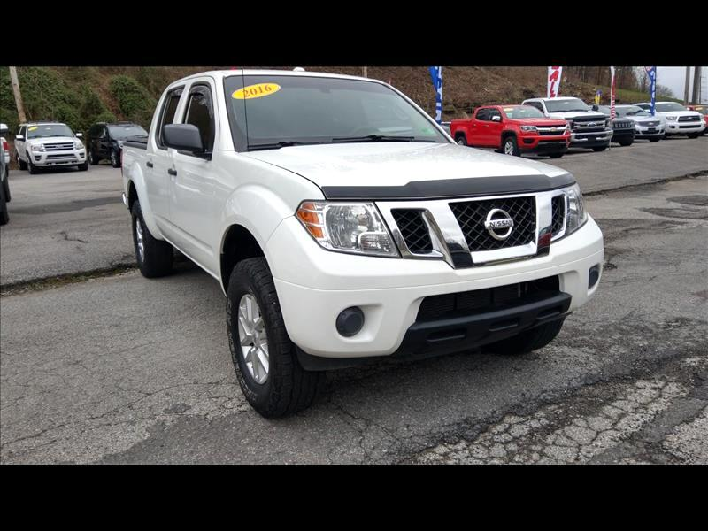 Nissan Frontier SL Crew Cab 5AT 4WD 2016