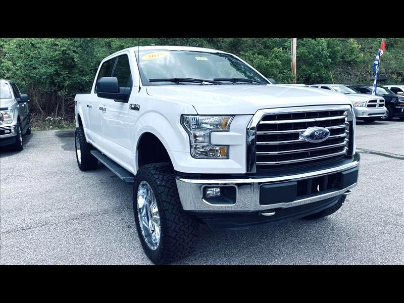 Ford 150 Lariat SuperCrew 5.5-ft. Bed 4WD 2016