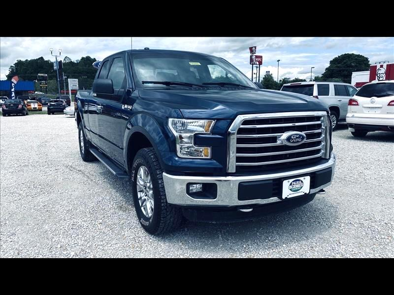 Ford 150 Lariat SuperCab 8-ft. 4WD 2016