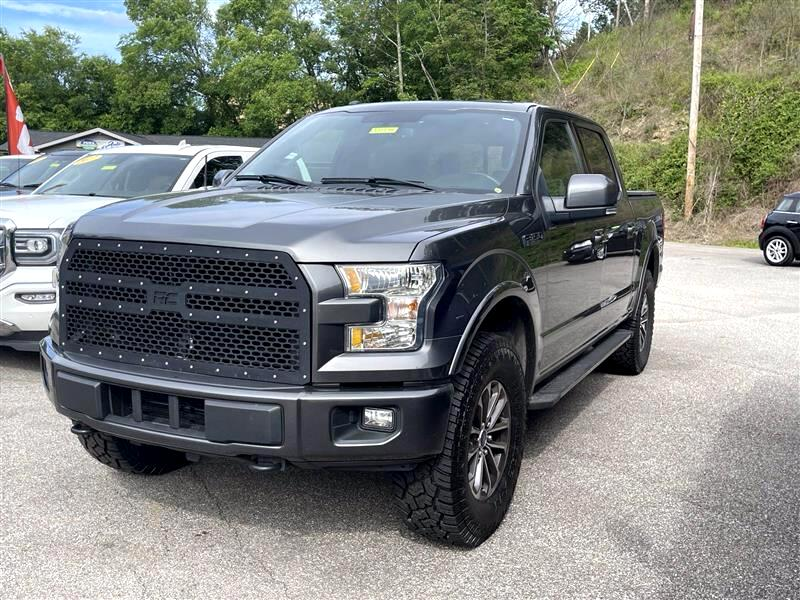 Ford 150 Lariat SuperCrew 6.5-ft. Bed 4WD 2017