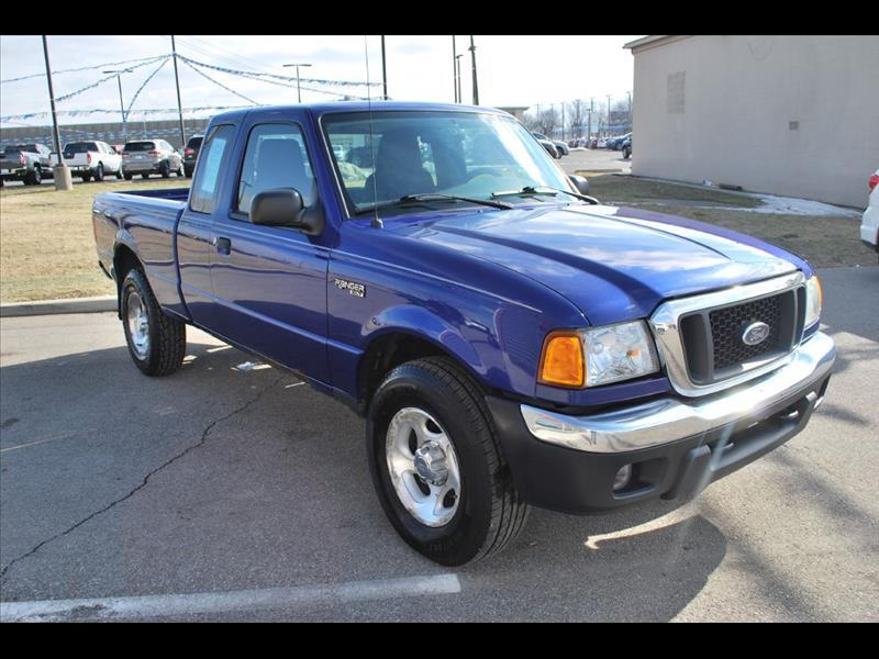 2005 Ford Ranger XLT SuperCab 4-Door 4WD