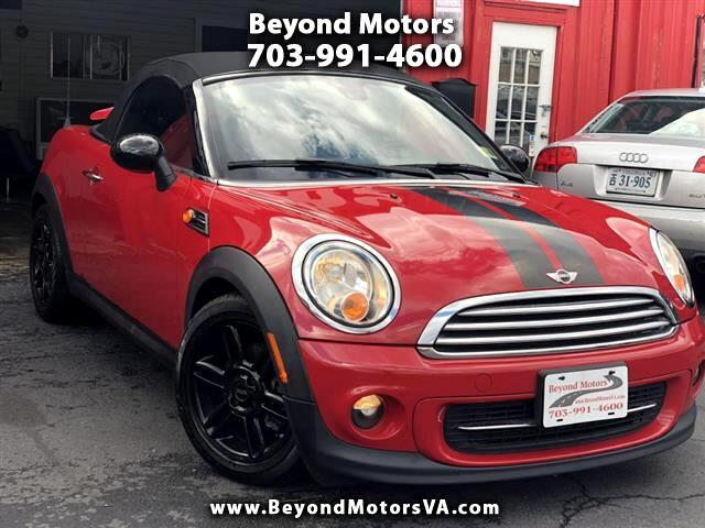 2013 MINI Roadster Convertible