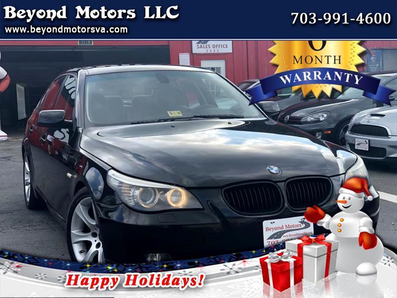 2008 BMW 5-Series I