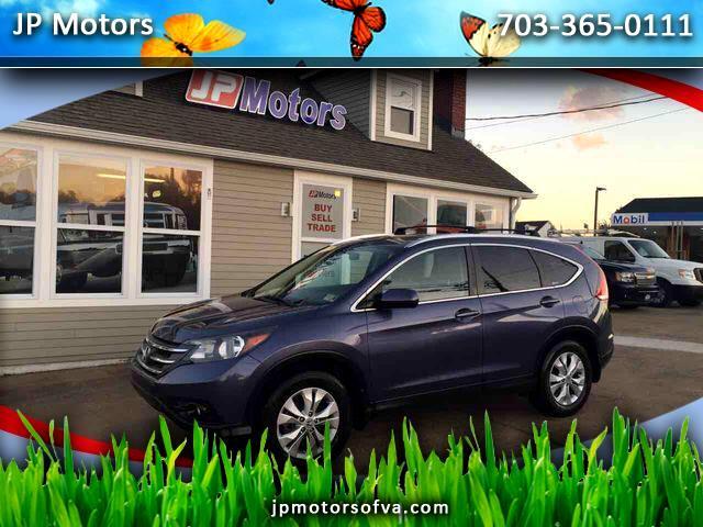 2012 Honda CR-V EX-L 4WD 5-Speed AT