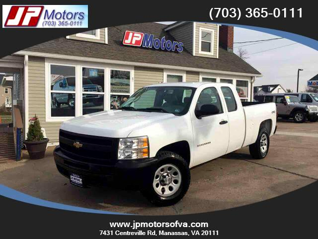2010 Chevrolet Silverado 1500 Work Truck Extended Cab 4WD