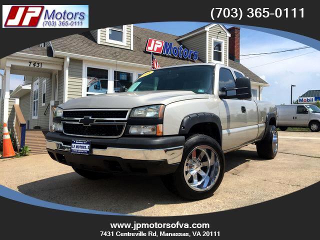 2006 Chevrolet Silverado 1500 Work Truck Ext. Cab 4WD
