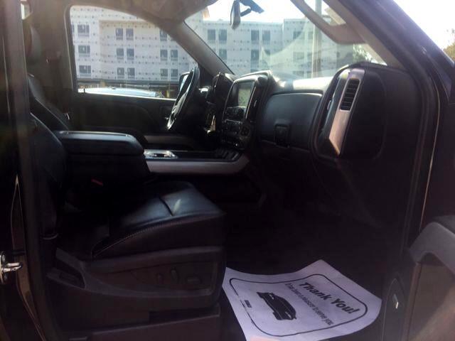 2015 Chevrolet Silverado 1500 Crew Cab LTZ Crew Cab 4WD