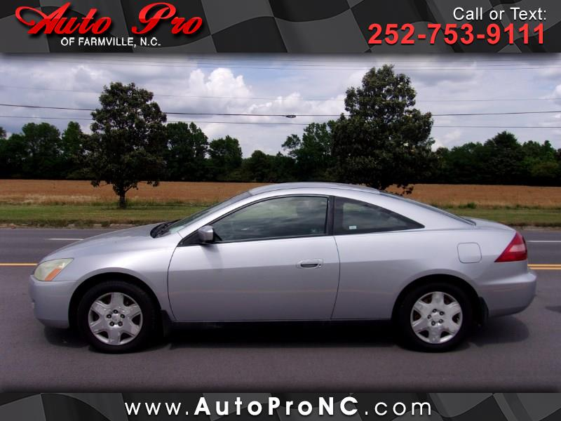 2005 Honda Accord LX V-6 Coupe AT