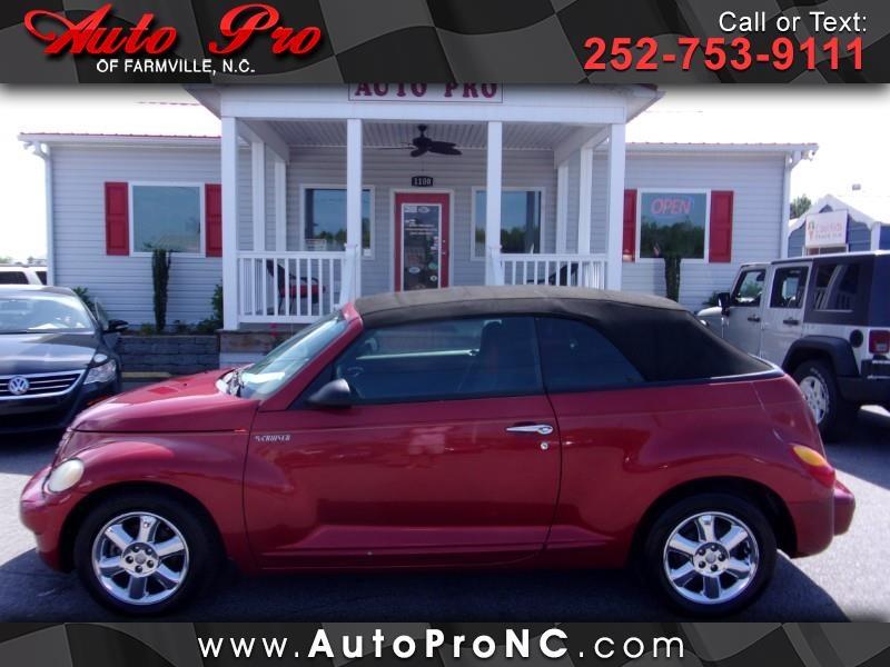 2005 Chrysler PT Cruiser Touring Convertible