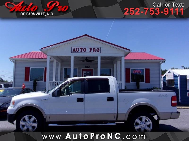 "2007 Ford F-150 4WD SuperCab 163"" Lariat"