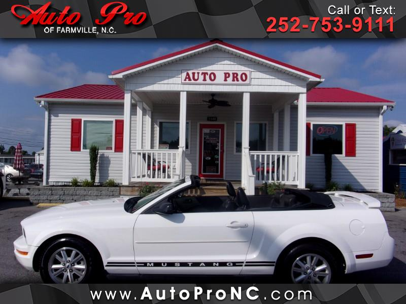 2006 Ford Mustang 2dr Conv Deluxe