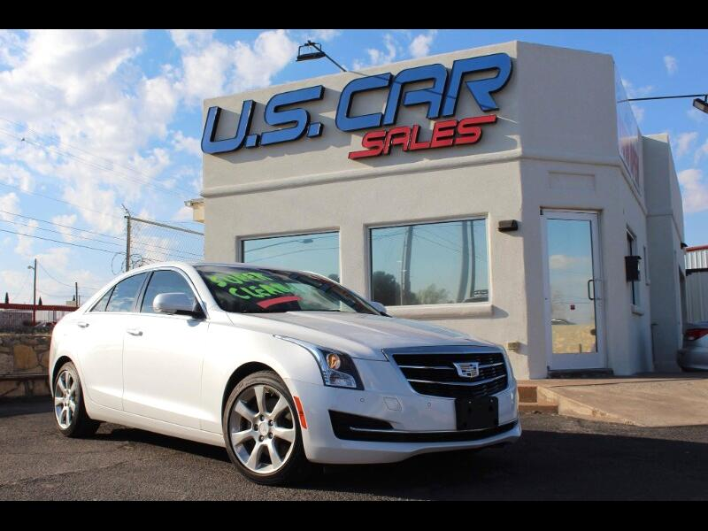 Cadillac ATS 4dr Sdn 2.0L Luxury Collection RWD 2016
