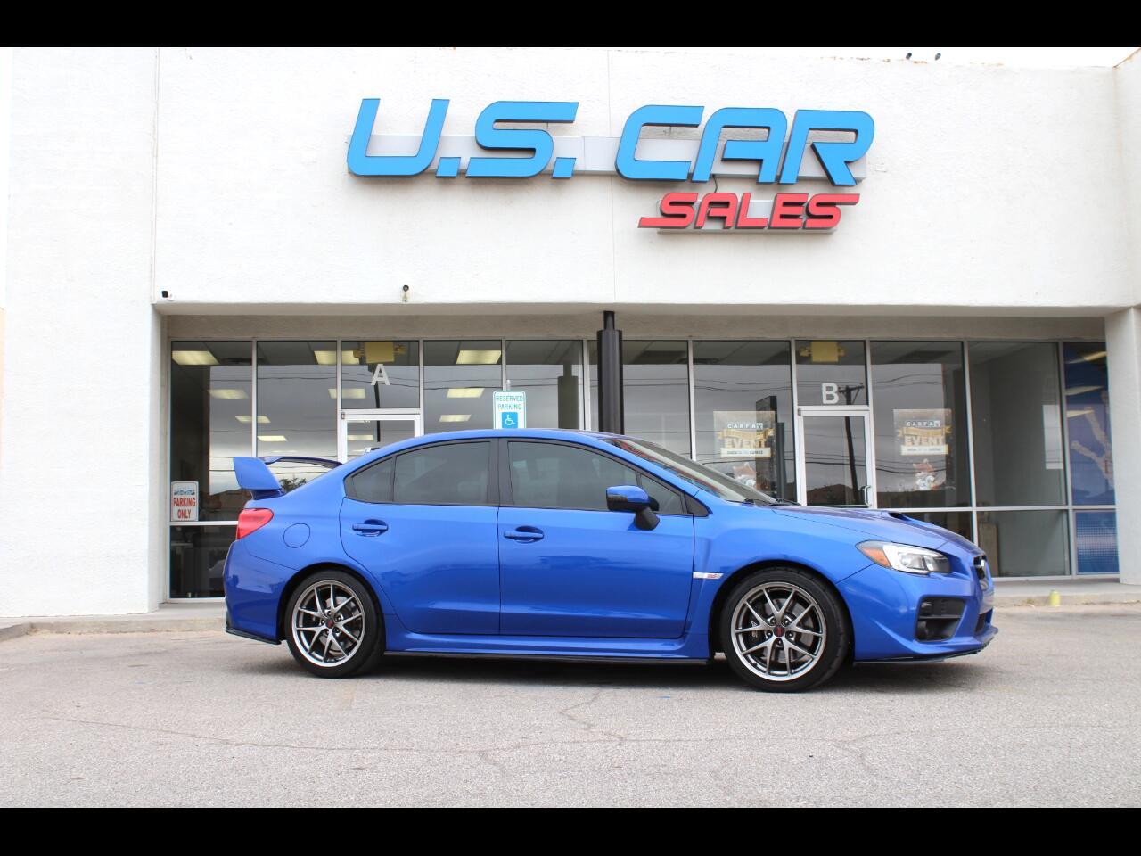 Subaru WRX STI 4dr Sdn Limited 2015