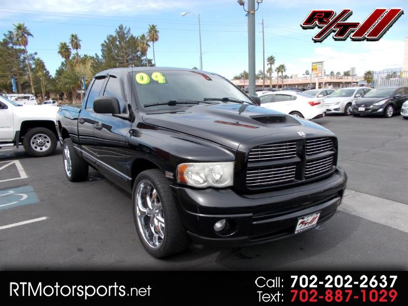 2004 Dodge Ram 1500 Laramie Quad Cab Long Bed 2WD